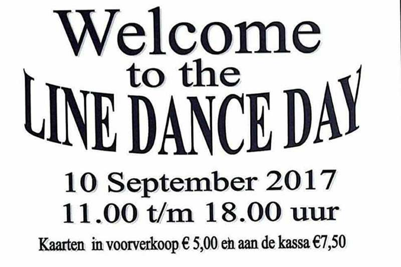 welcome to the Line Dancing Day