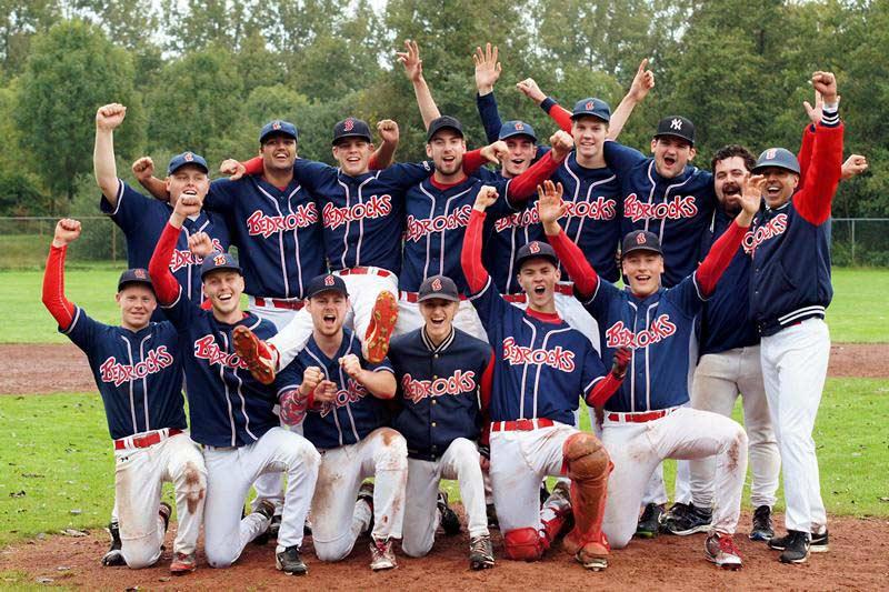 Bedrocks junioren 1 2017 kampioen