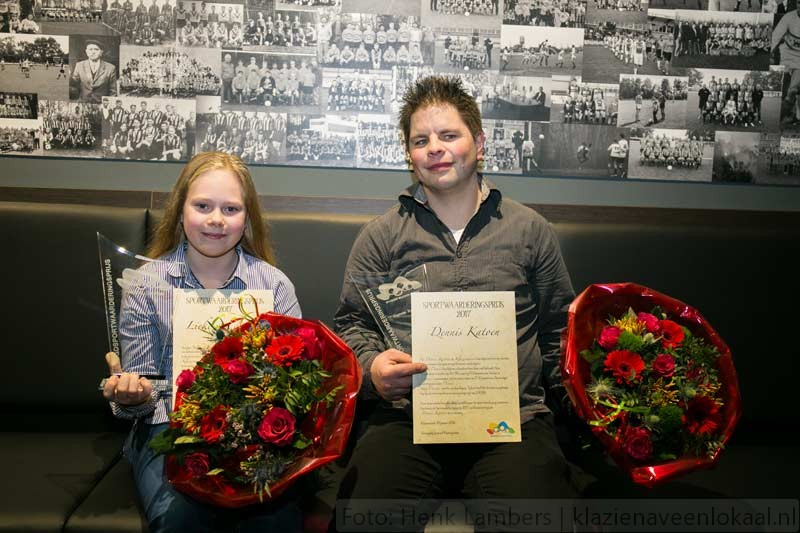 aanmoedigingsprijs-2017, Sportief Klazienaveen