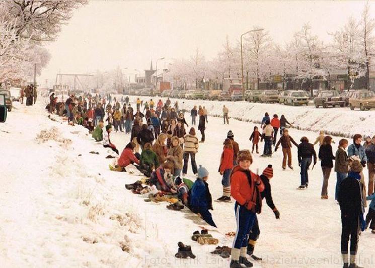 winter 1975 Klazienaveen