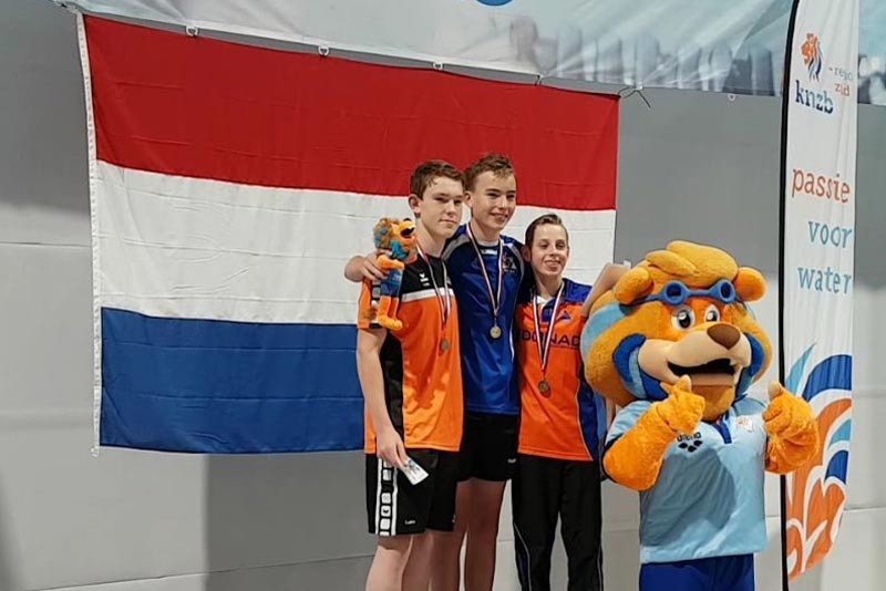Colin-Bes, Nederlands Kampioen 200m vrije slag
