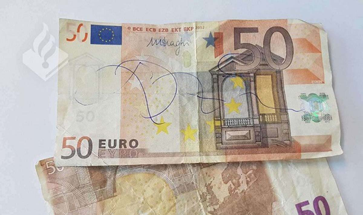 vals-geld, nepgeld