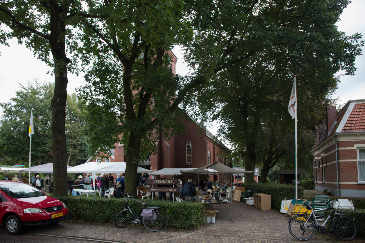 Rommelmarkt Veenkerk Klazienaveen-Noord