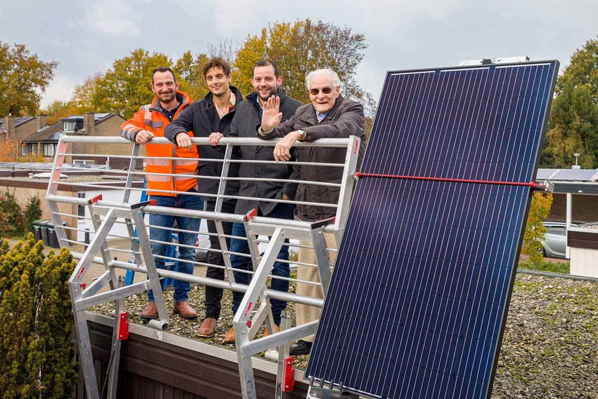 eerste-zonnepanelen-gezamenlijke-Inkoopactie-geplaatst